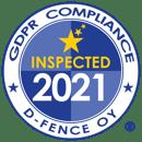 GDPR Sertificat EN 2021