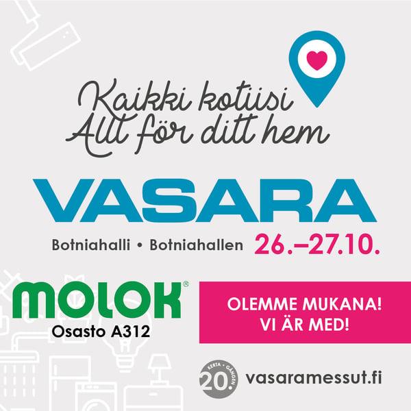 Vasara-rakennusmessut Vaasassa 26.-27.10.