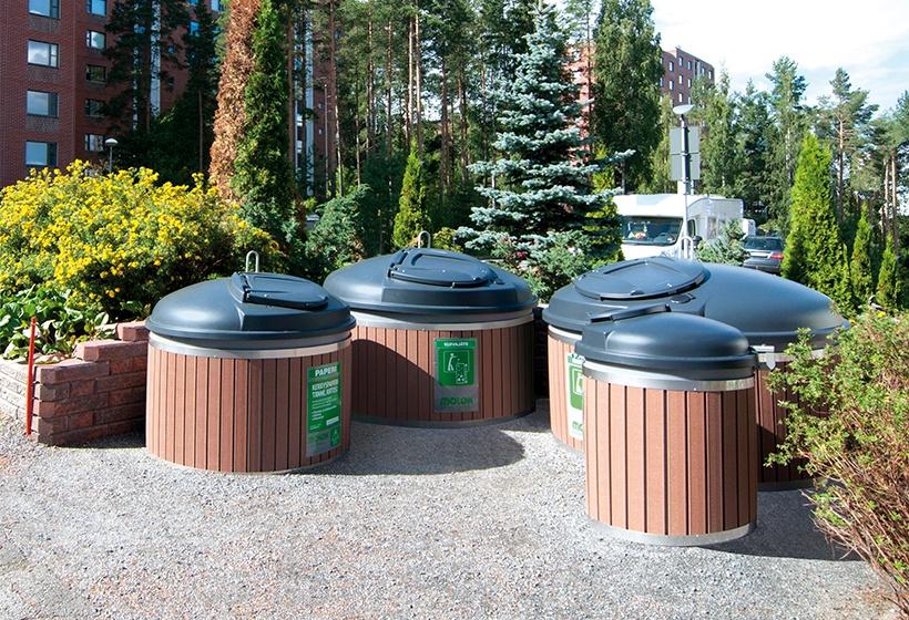 Molok-jätesäiliön huoltopalvelut