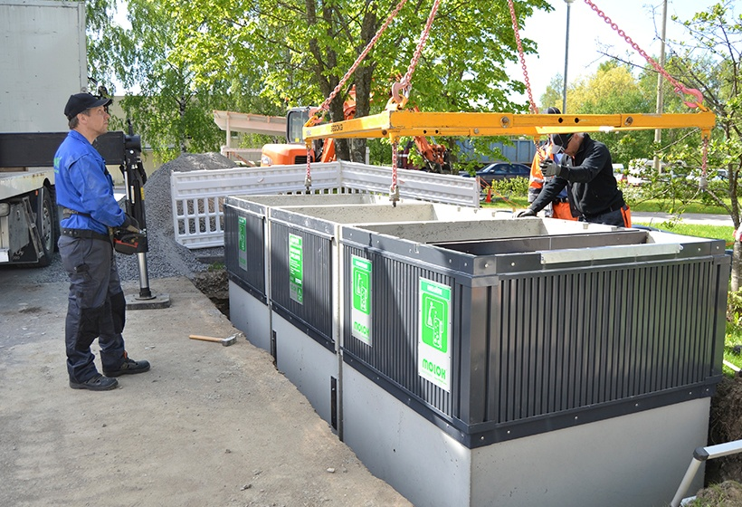 Installing MolokDomino containers