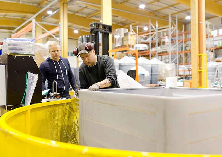 Avoimet työpaikat - tuotanto