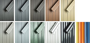 Versatile framing options adapts to surroundings