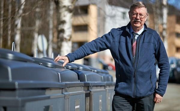 Jyväskyläläinen taloyhtiö vaihtoi jätekatoksen syväkeräykseen: hyödyt huomattiin välittömästi