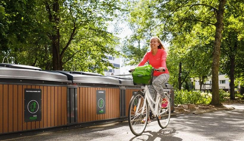 gestion de residuos-contenedores-reciclaje