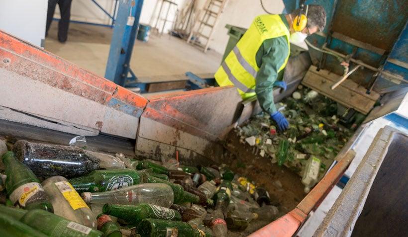 gestion de residuos-vidrio