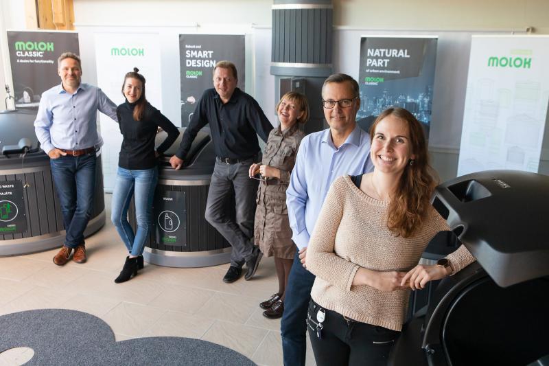 Molok gana el premio Service Network Company 2020