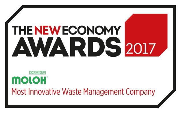 Molok Oy on voittanut kansainvälisen The New Economy Award -palkinnon