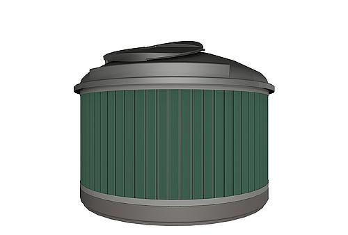 MolokClassic Kierrätysmuovilauta, vihreä