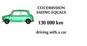 Vähemmän päästöjä ilmakehään
