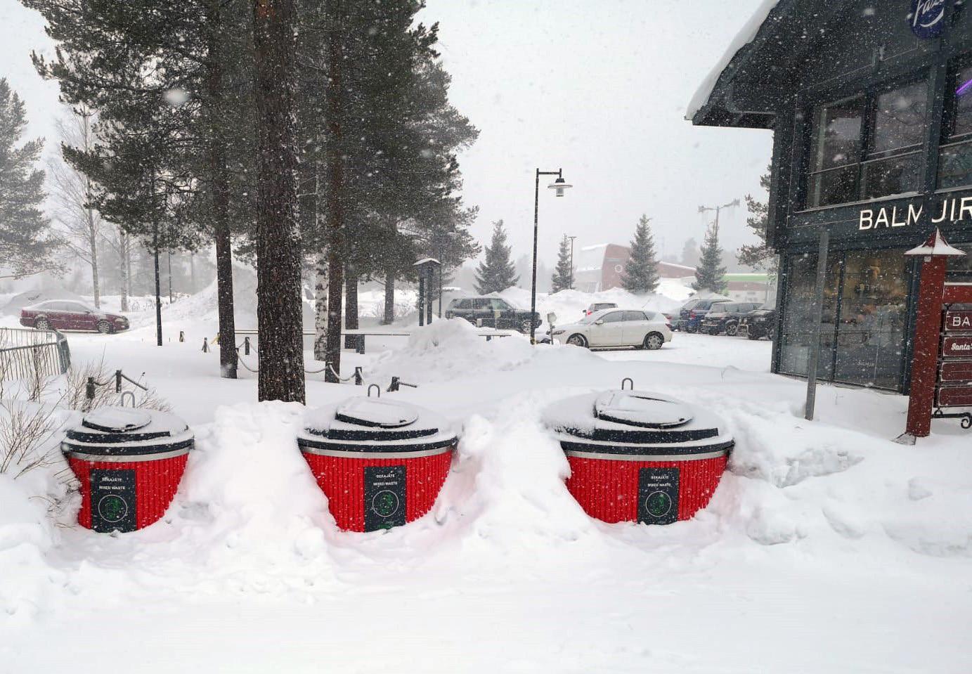 Papa Noel elige Molok para su pueblo en Rovaniemi (Laponia)