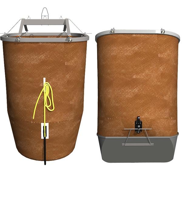 Sacs de levage pour différents types de déchets
